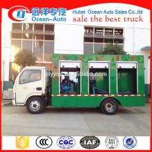 Camión del tratamiento de aguas residuales de Dongfeng / camión del tratamiento del tanque séptico para la venta