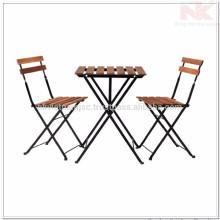 Table et chaise d'extérieur de haute qualité au Vietnam pour jardin