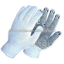 7 gauge palm PVC dotted gloves