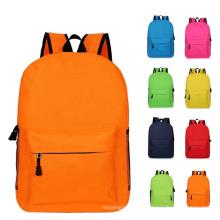 8 Colors Lower MOQ 50PCS Custom Logo Oxford Girls Boys Bookbags Children Mochilas School Bags Backpacks for Kids
