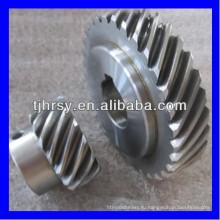 HRSY сталь S45C винтовой зубчатой передачи колеса завод