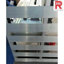 Profils d'extrusion en aluminium / aluminium pour le corps du bac à camion