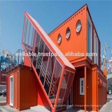 Certificat ISO Modèles modernes Structure en acier 20FT / 40FT Container Houses