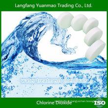 Traitement de l'eau Comprimés à base de dioxyde de chlore pour la purification de l'eau