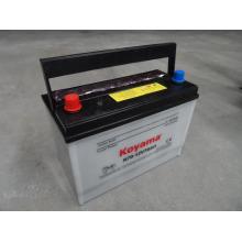 Batería de coche seca de la carga Japón Standard 12V70ah