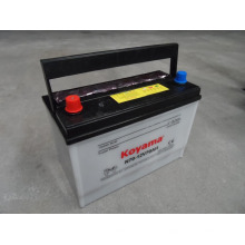 Dry Charge Car Battery Japan Standard 12V70ah