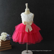 Hot first birthday dress for baby girl one piece princess red puffy flower birthday dress 1 year old girl Hot first birthday dress for baby girl one piece princess red puffy flower birthday dress 1 year old girl