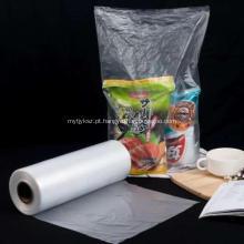 Saco de HDPE saco de rolo de supermercado saco de plástico