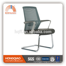 CV-B212BSG-1 powder coating base fixed nylon armrest mid mesh back office chair
