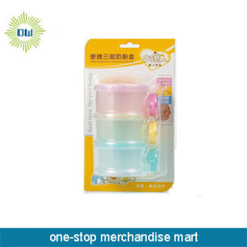baby milk powder plastic box set