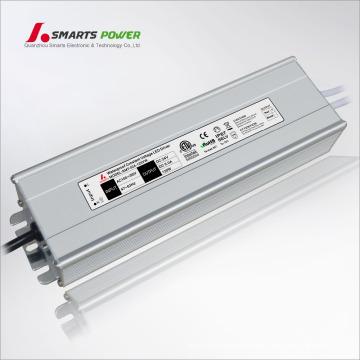 LED de 120 vatios controlador IP67 a prueba de agua fuente de alimentación 220 V AC 24 V CC transformador LED conductor