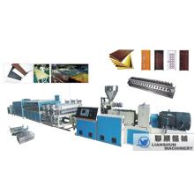 Ligne de Production PVC CE/SGS/ISO9001 WPC porte Conseil