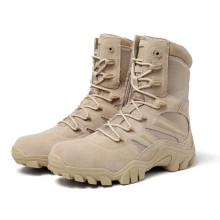 High quality  Military coyote suede leather uniform tactical  boots