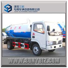 3000L Dongfeng 4X2 Vakuum-Abwasserkraftwagen