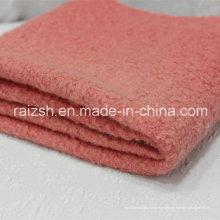 Tejido de lana de poliéster Señora invierno capa falda Mujer Tela