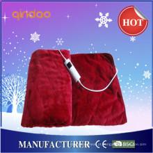 2016 novo design suave poliéster elétrico Throw Blanket