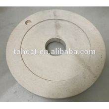 Пан фрезерные керамические пластины керамика Al2O3 zirocnia муллит керамические шлифовальные круглые пластины мельницы шлифовальные