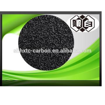 Carvão ativado granular de 1,5 mm para purificação do ar