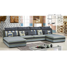 Nice Feeling U Shape Home Fabric Sofa (606)