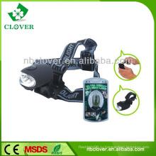 Открытый кемпинг рукоятка генератор аккумуляторная 3 светодиода высокой мощности фары с ремешком