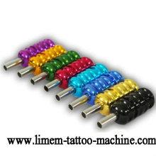 Máquina de tatuaje de calidad superior Grip de aleación de aluminio