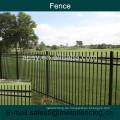 1.8m Stahlrohr Schmiedeeisen Zaun für Garten
