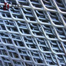Tipo de rollo de plata Malla de metal expandido de acero inoxidable