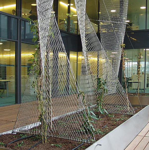 Treillis X-tend flexible architectural en acier inoxydable