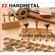 Inserto de trabajo de madera de aleación resistente al desgaste Hra93