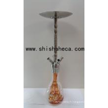 Grossiste en acier inoxydable Shisha Nargile Smoking Pipe Hookah