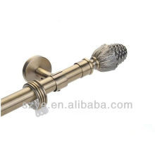 Window dressing hardware curtain rod for home decoration