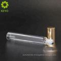Bouteilles en verre d'or dépoli rouleau de verre sur les récipients 5ml verre mince roulent sur la bouteille ronde bouteille de tube de 8 ml pour le parfum