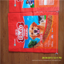 BOPP Laminated PP Woven Bag for Pet Food Packing
