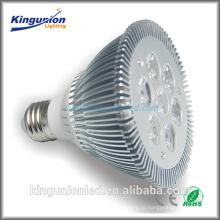 Алюминиевый прожектор СИД 3W / 4W / 5W / 6W / 7W алюминиевого ABS 95lm / W