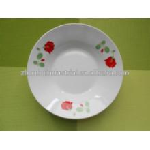 Assiette de soupe et assiette de fruits pour plaques de céramique personnalisées