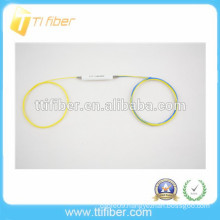 High quality 1x2 FBT single window optical fiber splitter