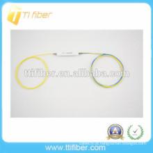 Alta qualidade 1x2 FBT separador de fibra óptica de janela única