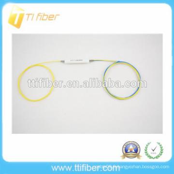 Séparateur de fibres optiques monobloc 1x2 FBT de haute qualité