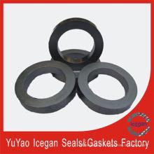 Anneau d'emballage foré de graphite flexible / joint d'emballage de graphite flexible Pièces de moteur Pièces d'automobiles