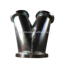 fabricação de chapa de aço inoxidável com soldagem e dobra