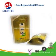 High Quality Doypack Zipper Plastic Tea Bag