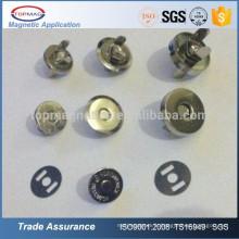 Boutons à bouton-pression magnétique à bas prix au magnétophone pour sacs en cuir