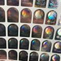 A prueba de manipulaciones Anti-falsificación 3D holograma personalizado