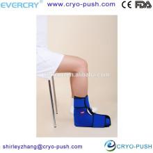 envoltura de tobillo de terapia fría para productos de ortopedia de esguince