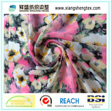 Compsite Filament Printing Crepe Chiffon Fabric for Garment
