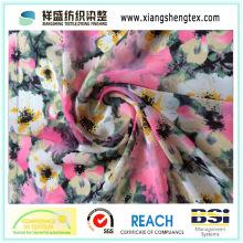 Compsite Filament Impressão Crepe Chiffon Tecido para vestuário