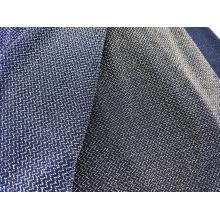Tissu à tricoter métallique extensible brillant