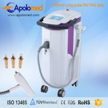 Plataforma médica integrada do laser com o laser de 1064nm YAG e o equipamento do laser de Er YAG