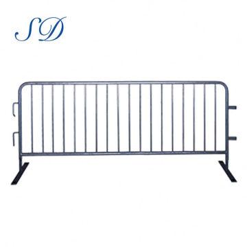 Puerta de barrera de control de multitud de valla galvanizada