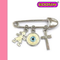 Modeschmuck Großhandel Evil Eyes Pin Brosche # 5905